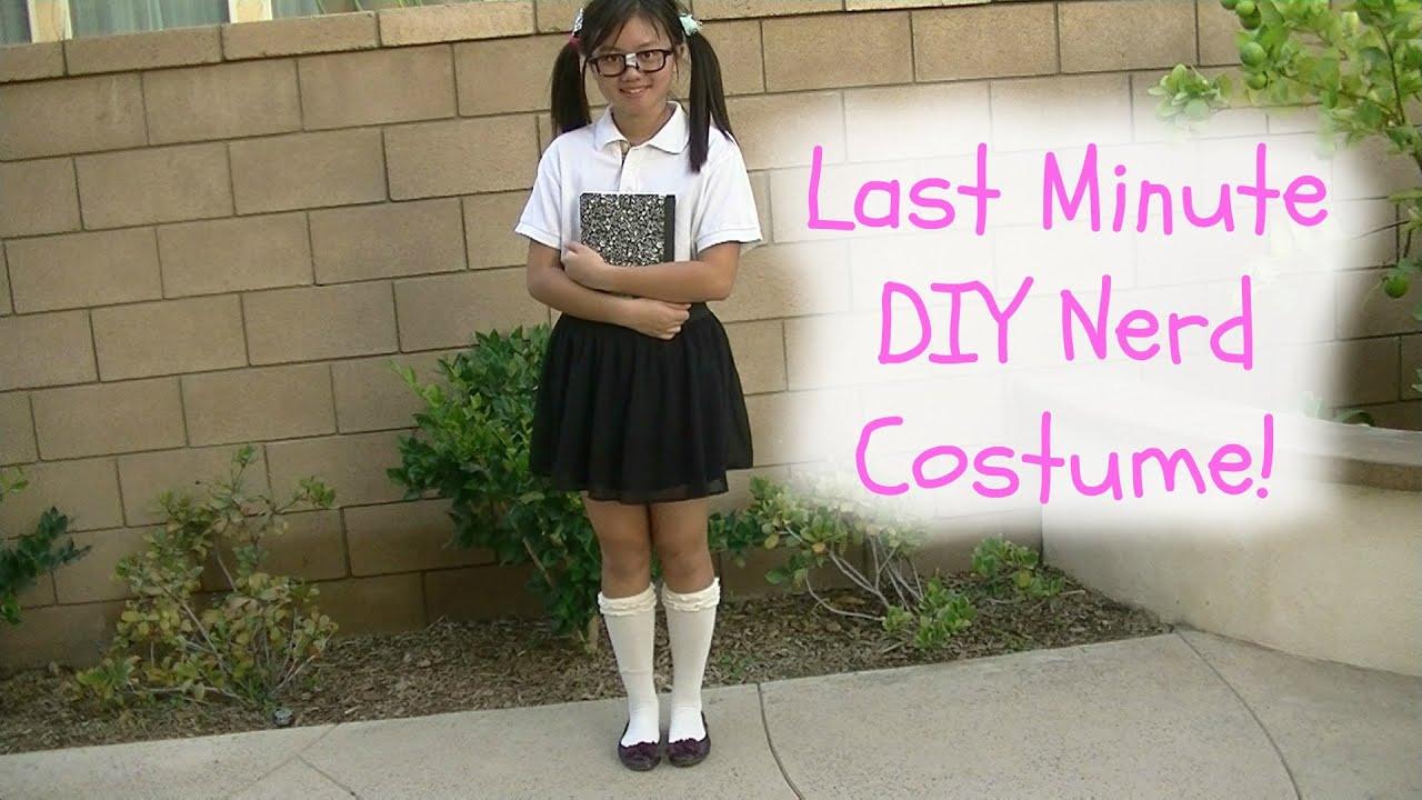 Female nerd costume diy reviewwalls diy last minute nerd costume diywithpri you solutioingenieria Choice Image