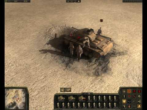 Theatre of War 2 Africa 1943 HD gameplay |