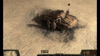 Theatre of War 2 Africa 1943 HD gameplay
