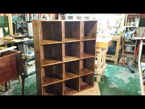 Build A Bookshelf Cubby --Brian's Workshop