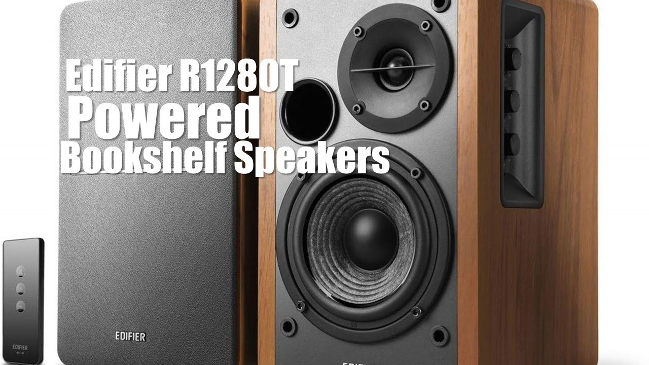 Edifier R1280t Powered Bookshelf Speakers 2 0 Active Near Field Monitors Cad Youtube
