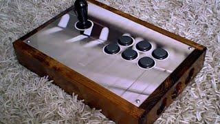 Custom Diy Arcade Stick Controller (sanwa + Myoungshin Fanta)