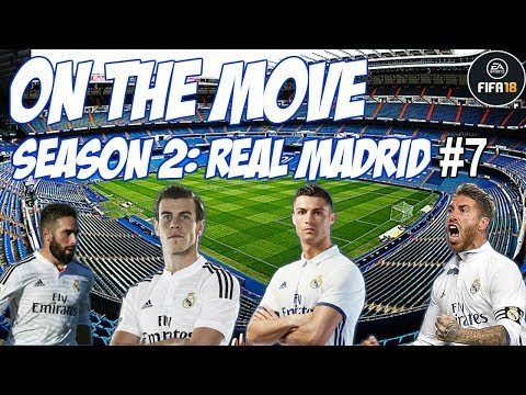 AUBAMEYANG SIGNS FOR MADRID!!! | ON THE MOVE S2: REAL MADRID EP7 | FIFA 18 CAREER MODE
