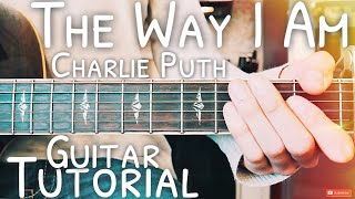 Download Lagu The Way I Am Charlie Puth Guitar Tutorial // The Way I Am Guitar // Lesson #482 Mp3