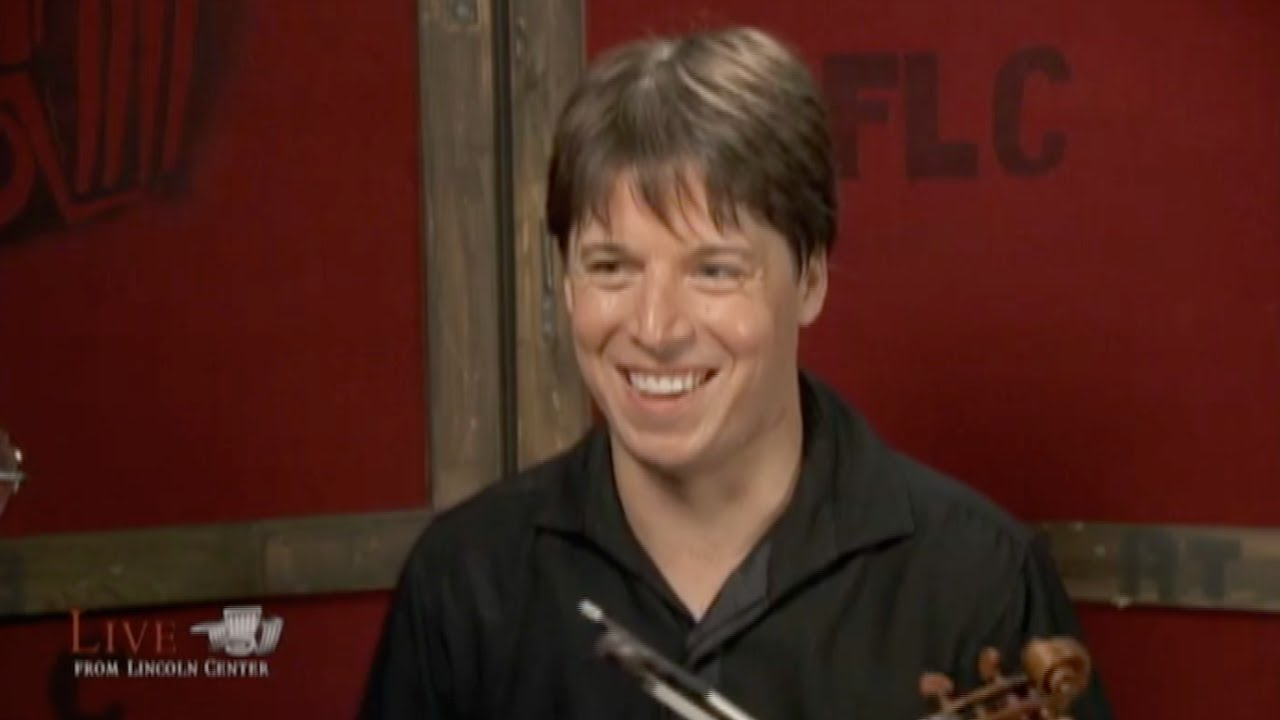Joshua Bell talks to Alan Alda (2009)