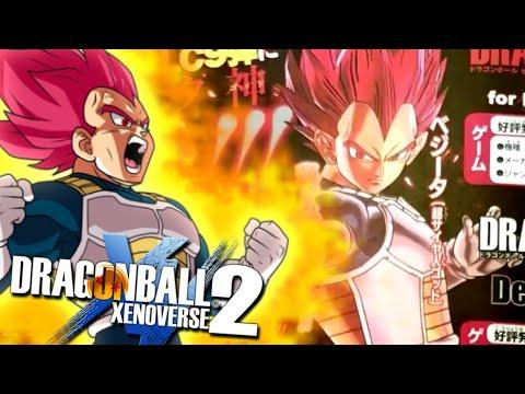 DLC 9 CONFIRMED | Vegeta Super Saiyan God - Dragon Ball XENOVERSE 2 [Scans Reveal] |