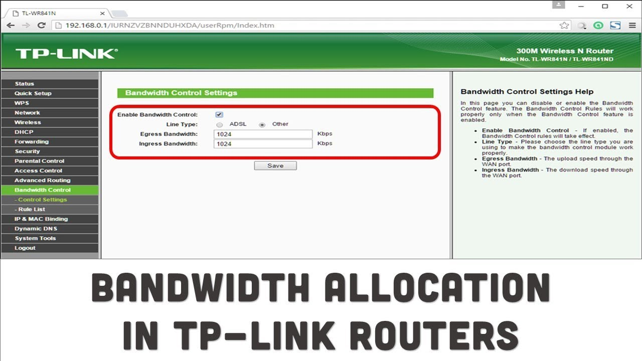 How To Limit Bandwidth In TP-Link Routers || Bandwidth Allocation