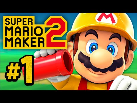 Story Mode: Rebuilding from the Ground Up - Super Mario Maker 2 #1