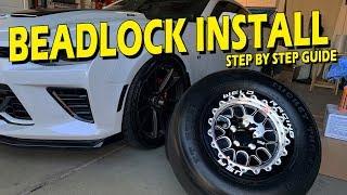 How to Mount Tires on Beadlock Wheels - Weld S77 Beadlocks