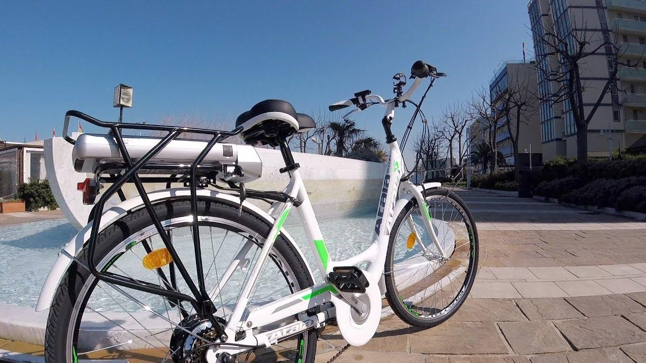 Atala And Run Lady 300 Electric Bike Test