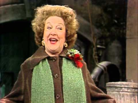 """Ethel Merman sings """"Tomorrow"""" on Sesame Street Christmas"""
