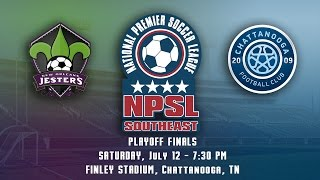 2014 NPSL S.E. Conf. Finals - New Orleans Jesters at Chattanooga FC, July 12, 2014