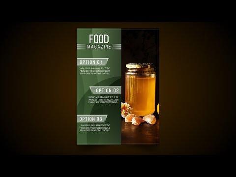 Food Magazine Cover Design Affinity Designer Tutorial thumbnail