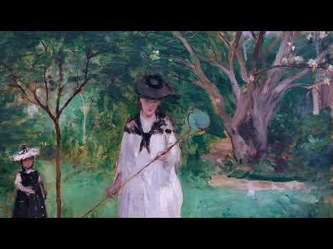 A summer day in Paris: Berthe Morisot's Hunting Butterflies