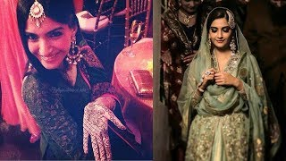 Sonam Kapoor's GRAND Wedding Mehendi Ceremony With Entire Kapoor Family - Anil,Arjun,Sanjay
