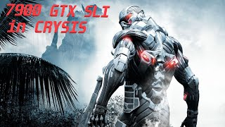 GeForce 7900 GTX SLi in Crysis…