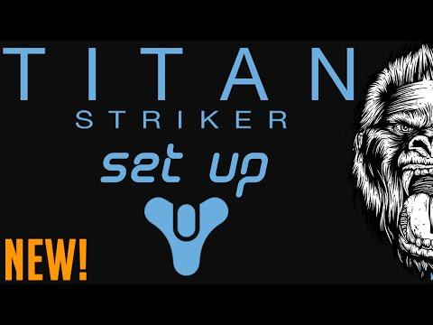 Destiny Best Striker PVP Titan Setup (IN MY OPINION)