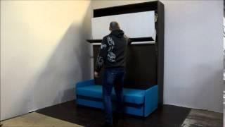 Шкаф-кровать-трансформер с диваном видео(Шкаф кровать-трансформер с диваном в Москве krovat-transformer.ru Tel: 8903 795 54 73., 2014-12-19T23:11:18.000Z)
