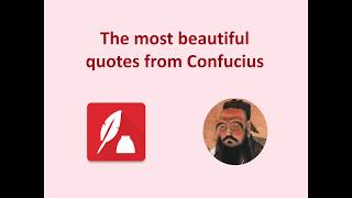 The Most Beautiful Quotes from Confucius