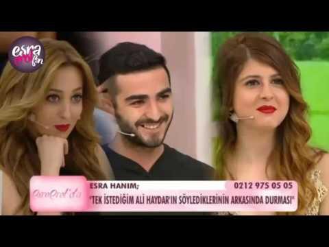 Ali Haydar'dan Esra'ya Yeşil Işık !!!