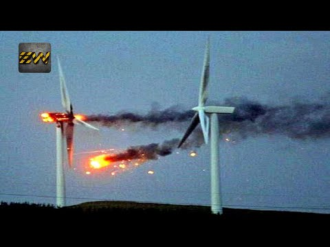 Top 5 Shocking Windmill FAILS/CRASHES
