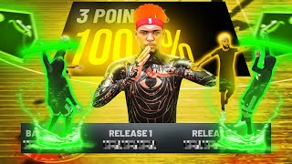 BEST AUTOMATIC GREENLIGHT JUMPSHOT IN NBA 2K21! HOW TO NOT MISS WITH THIS JUMPSHOT AND BADGE METHOD!