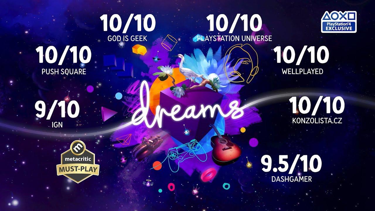 PS4 I Dreams Universe 에콜레이드 트레일러