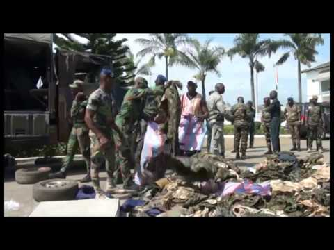 Côte d'Ivoire: Une cache d'armes découverte à Abidjan (Attécoubé)