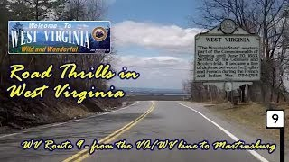 Route 9 in West Virginia from the VA/WV line to Martinsburg