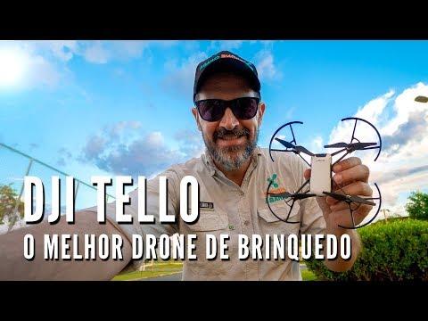 Review DJI Tello em Português- Drone Cuiabá
