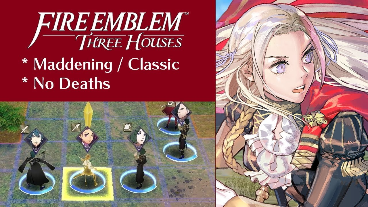 Fire Emblem Three Houses | Black Eagles | Chapter 1 Mission: Rivalry of the Houses (Maddening)