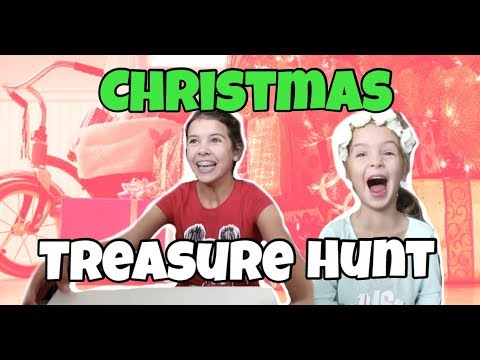 BIGGEST CHRISTMAS TREASURE HUNT | Not Expecting This!