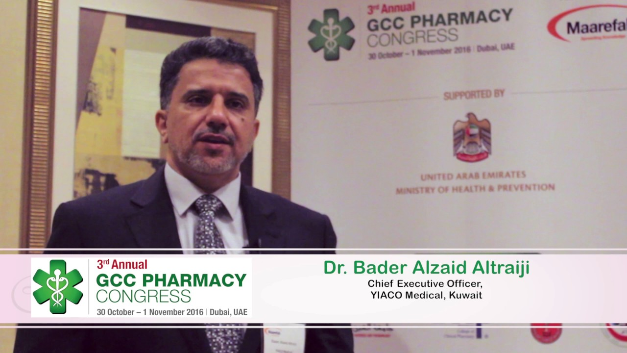 Interview with Dr  Bader Alzaid Altraiji, CEO of YIACO Medical, Kuwait