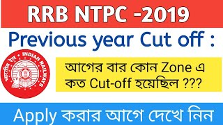 #RRB NTPC Previous year Cut-off | NTPC Resion wise cut off 2015