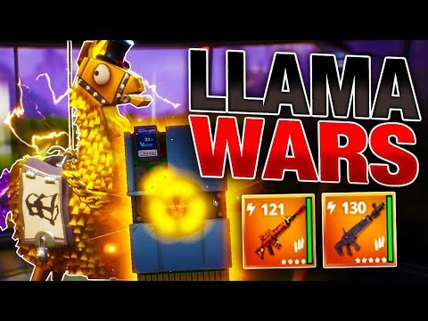 *INSANE* LLAMA WARS Opening! | Legendary Troll Loot! | Fortnite Save the World