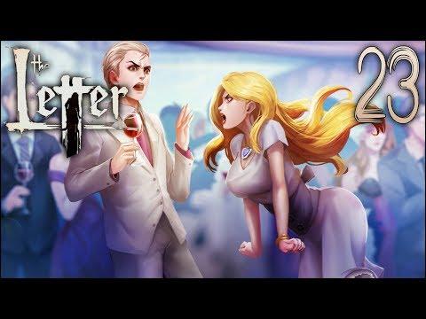 HANNAH'S ENDINGS | The Letter (Horror Visual Novel) - Part 23 | Flare Let's Play