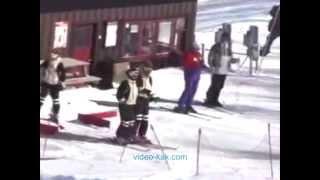 Урок№ 11 Видео как научиться кататься на горных лыжах