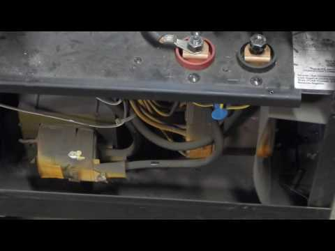 the miller millermatic 250 mig welder repair part 3 - youtube  youtube