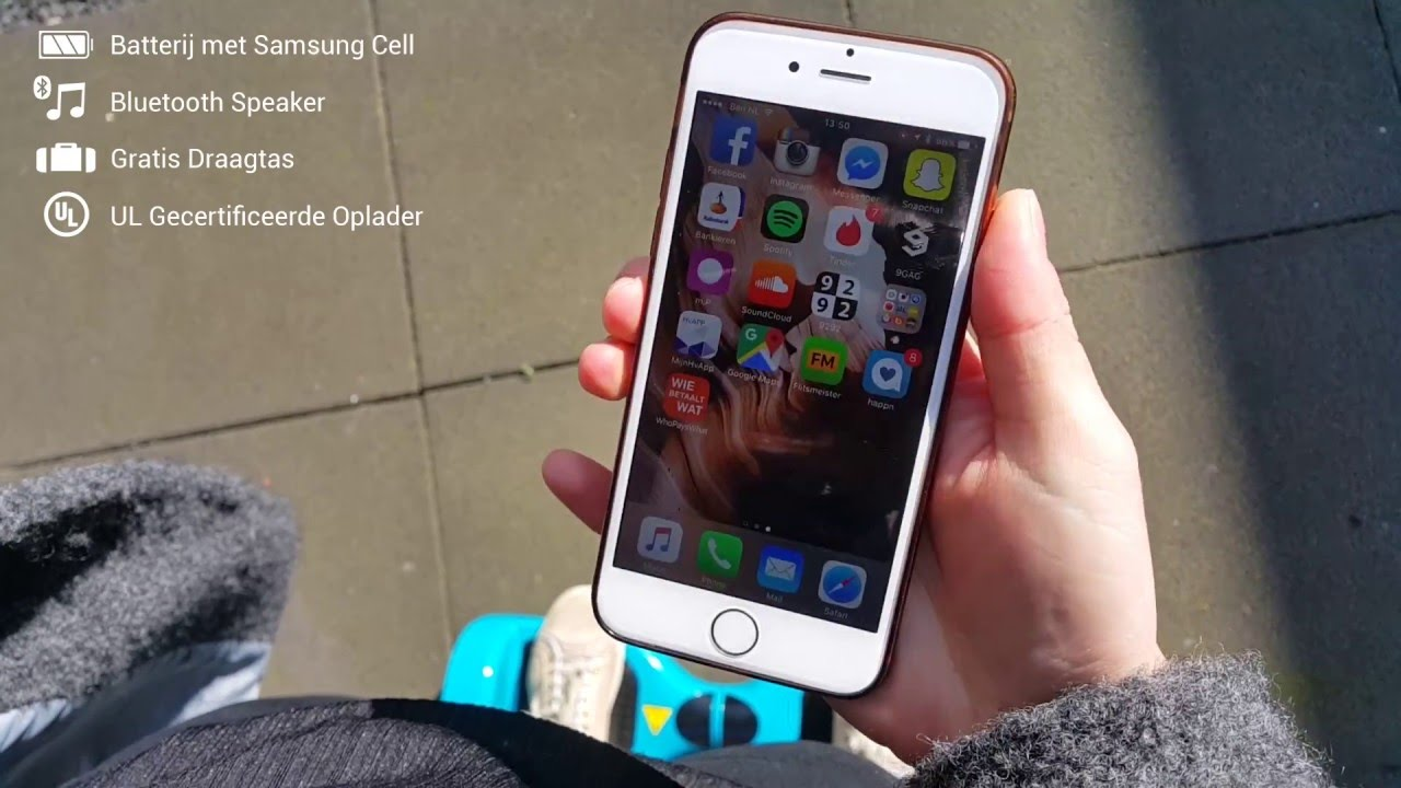 Ongekend Teslaboard X16 met bluetooth speaker (hoverboard - oxboard) - YouTube LC-26