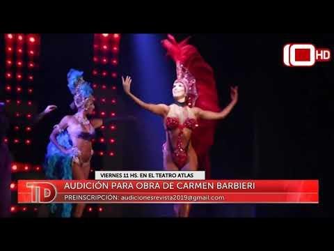Audición para la obra de Carmen Barbieri
