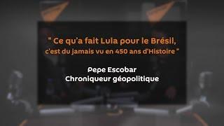 « Ce qu'a fait Lula pour le Brésil, c'est du jamais vu en 450 ans d'Histoire »
