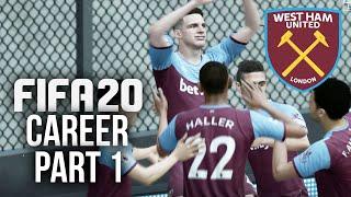 FIFA 20 CAREER MODE Gameplay Walkthrough Part 1 - FIRST BIG SIGNINGS (West Ham)