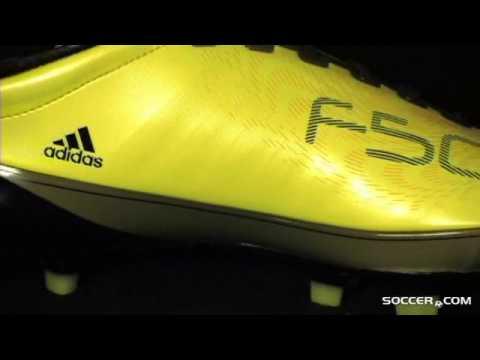 adidas f50 adizero black sun yellow