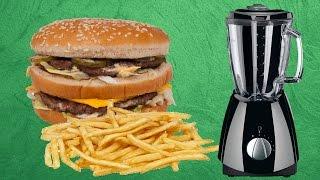 Hamburger Menüsünü İçecek Haline Getirdik - Oha Diyorum Mutfakta