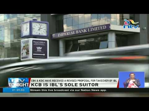 CBK, KDIC receive KCB's revised proposal for takeover of troubled Imperial Bank