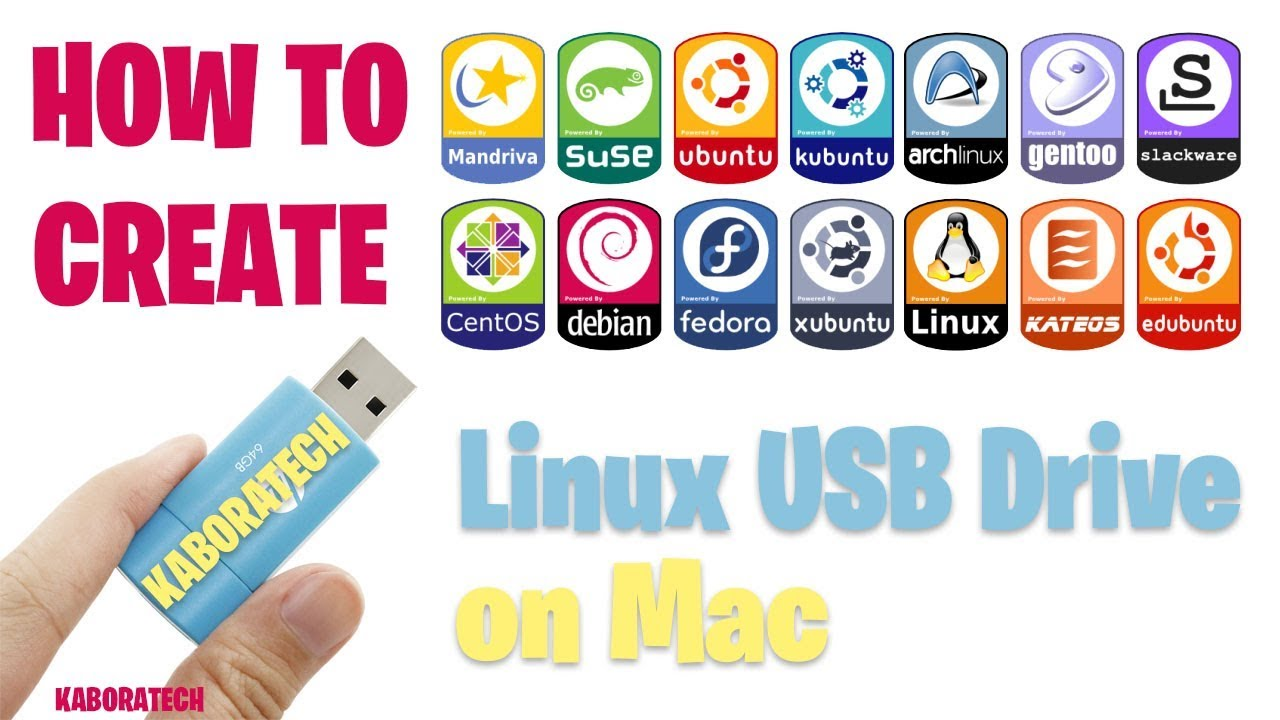 create bootable linux flash drive mac