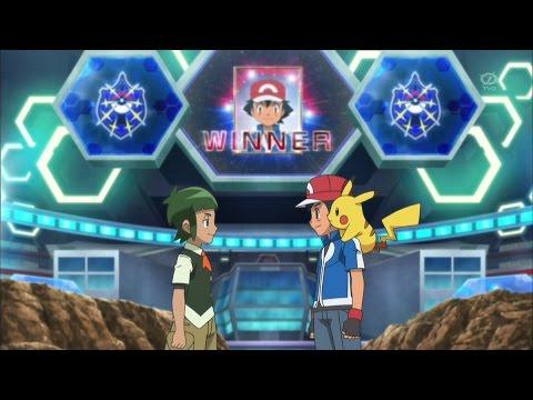Pokemon XY&Z Episode 35 Review - Ash defeats Shota! The best battle in the Pokemon anime!