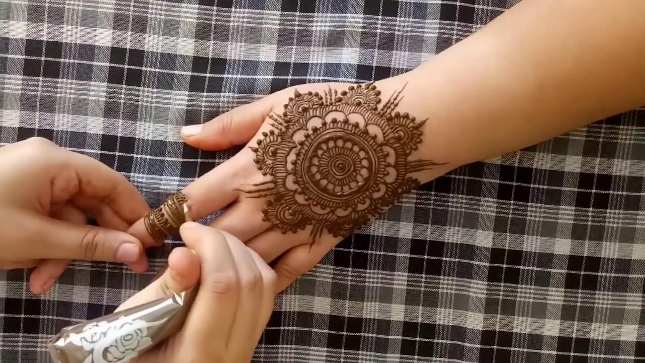 Simple mehndi designs videos tutorial mehndi 2018 video youtube simple mehndi designs videos tutorial mehndi 2018 video baditri Images