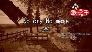 【カラオケ】No cry No more/AAA