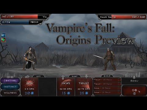 Vampire's Fall: Origins Preview